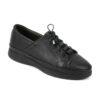 Γυναικείο δερμάτινο sneaker Boxer 96034 - Μαύρο