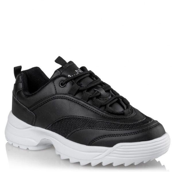 Γυναικεία sneakers Miss NV 13009 - Μαύρο