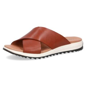 Caprice χιαστή παντόφλες 27201 - Ταμπά