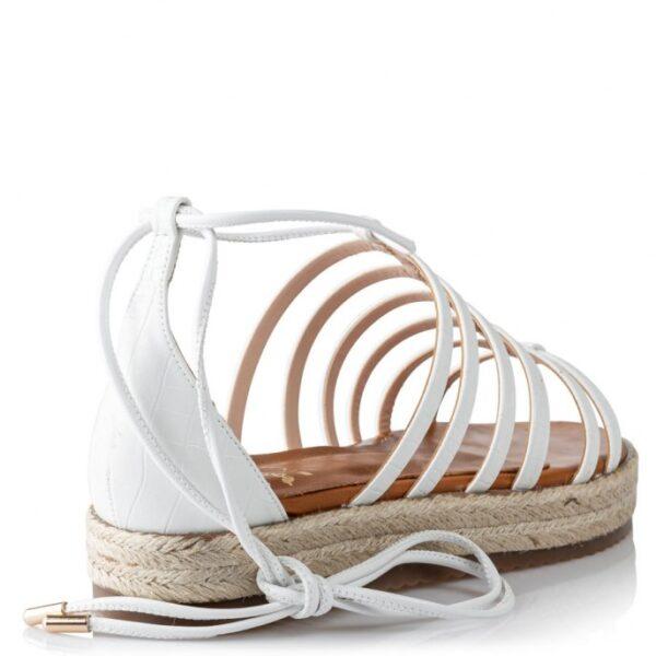 Mairiboo γυναικεία σανδάλια 11820-3 Λευκό