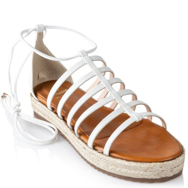 Mairiboo γυναικεία σανδάλια 11820-2 Λευκό