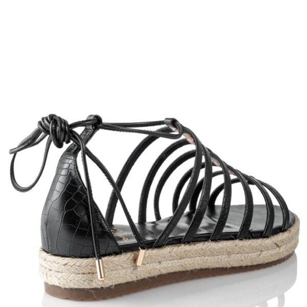 Mairiboo γυναικεία σανδάλια 11820-3 Μαύρο